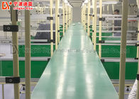 Dual Face Turning Conveyor Belt Line Automated Conveyor Systems For Material Transfer