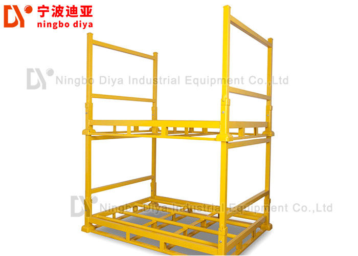 Metal Logistic Stacking Rack system in Assembly Workshop